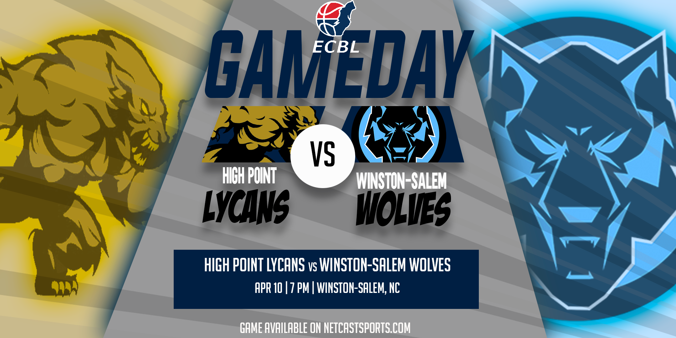 Winston-Salem Wolves vs High Point Lycans Gameday Promo